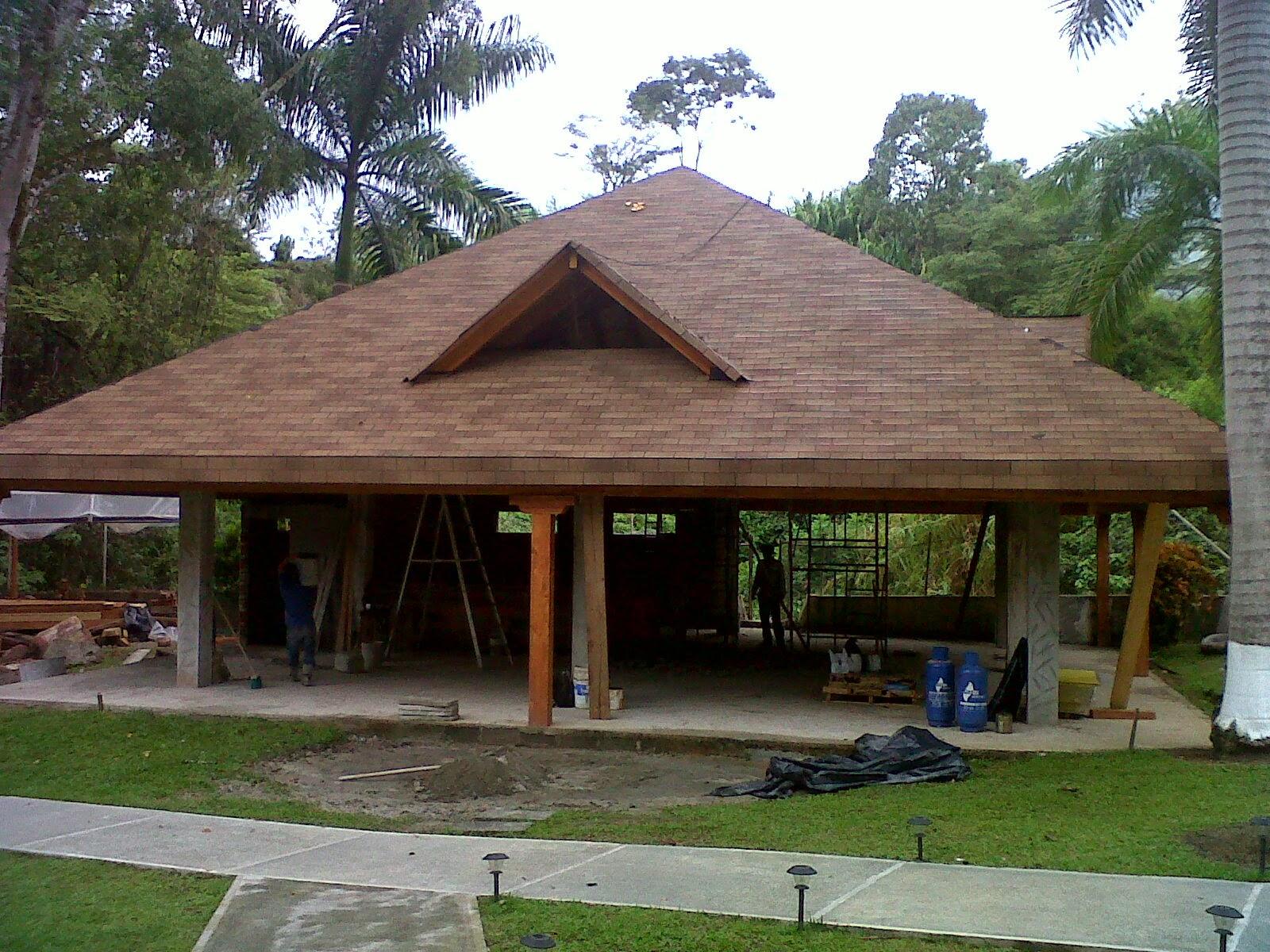 Cubiertas de madera y tejados v v maderas y reformas for Imagenes de tejados de madera
