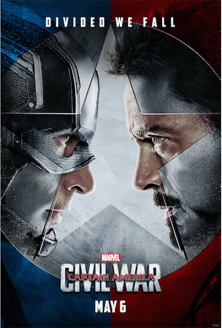 civil war poster marvel