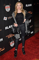 Peyton R. List - Griffith Park Haunted Hayride Opening Night 10/04/2015