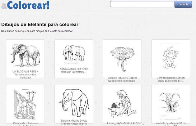 aColorear, buscador de dibujos para colorear para niños - Plantilla ...