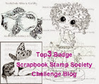 Top 3 at Scrabook Society!