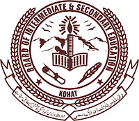 Board of Intermediate and Secondary Education, Kohat
