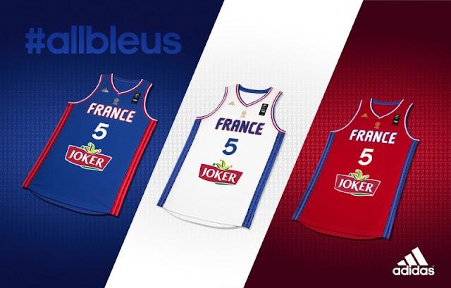 adidas presenta la camiseta de Francia