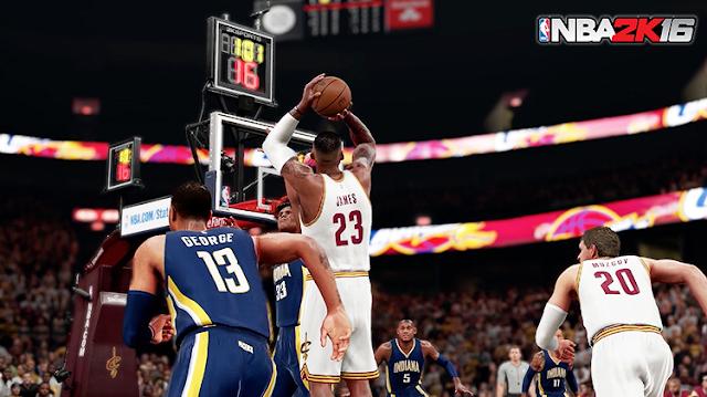 NBA 2K16 Gameplay Improvements