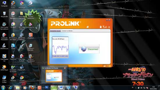 Cara disable Aero peek di windows 7