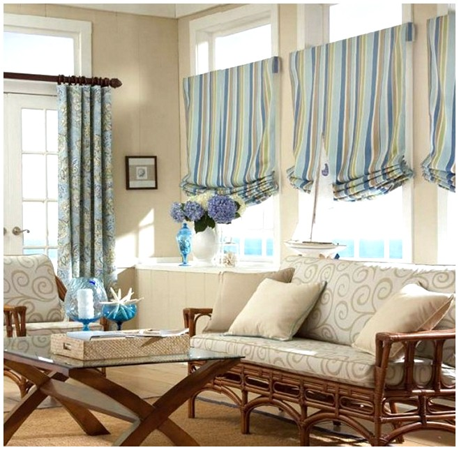 Ideas For Window Treatments Amazing With Living Room Window Treatment Ideas Image