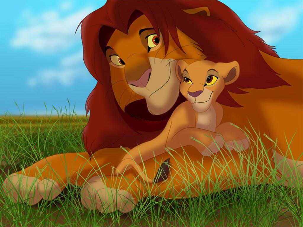 Wallpaper Lion King