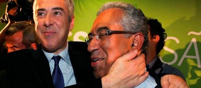 António Costa e o Amigo José Sócrates