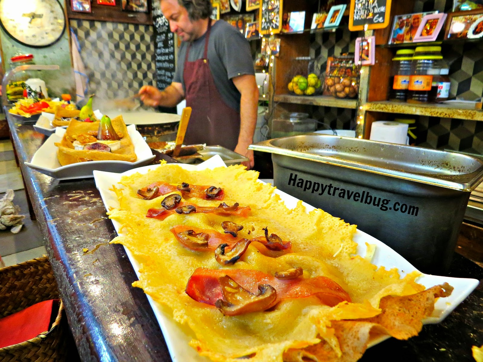 La Boqueria Market in Barcelona, Spain