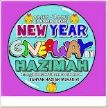 New Year Giveaway by Hazimah