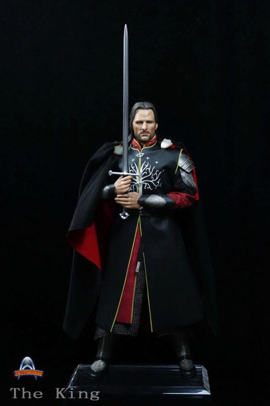 [ART-FIGURES] The King OR LOTR 1/6 Aragorn King of Gondor 12-inch Figure King-004