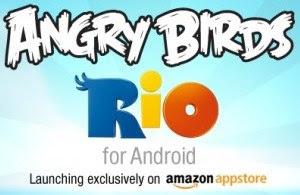 igre Angry Birds Rio Android mobiteli Amazon Appstore