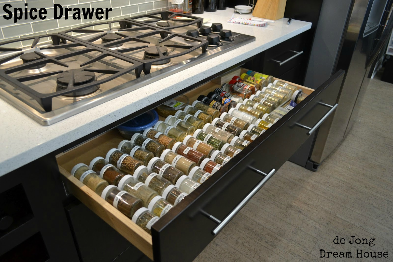 de Jong Dream House: Spice Drawer