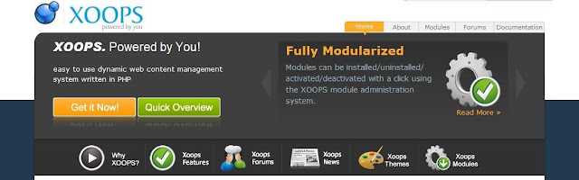 xoops with yogurt social networking module
