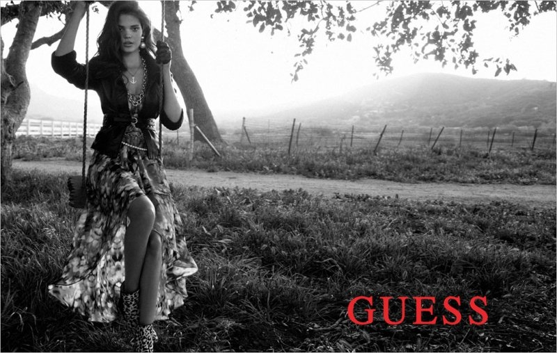 guess fallwinter 2012 featuring megan wiggins and gigi hadad
