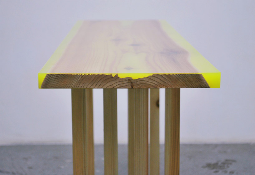 No end to design flat table peeled for Table flat design