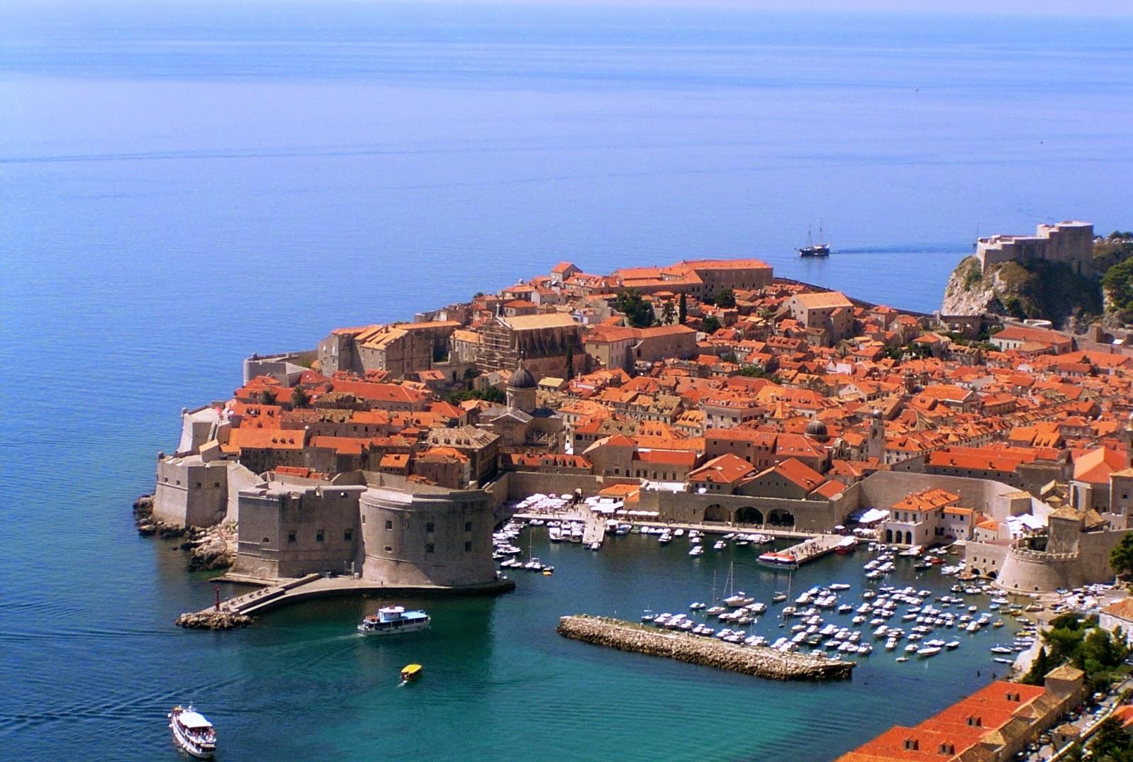 Bymurerne i Dubrovnik, Kroatien