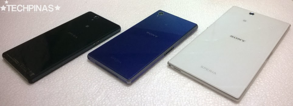 Sony Xperia Z vs. Sony Xperia Z1 vs. Sony Xperia Z Ultra, Sony Flagship Smartphones