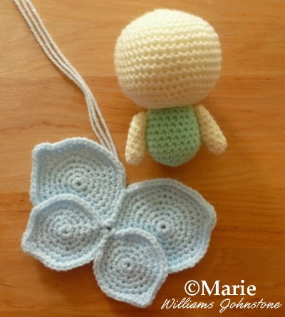 Amigurumi Fairy Pattern : CraftyMarie: Free Crochet Amigurumi Fairy Patterns