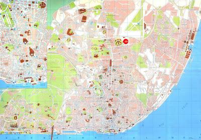 Lisbon Map Europe