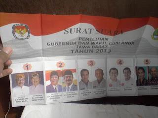 Warga Jawa Barat Banyak Yang Mengeluh Tidak Mendapatkan Undangan Untuk Memilih Cagub