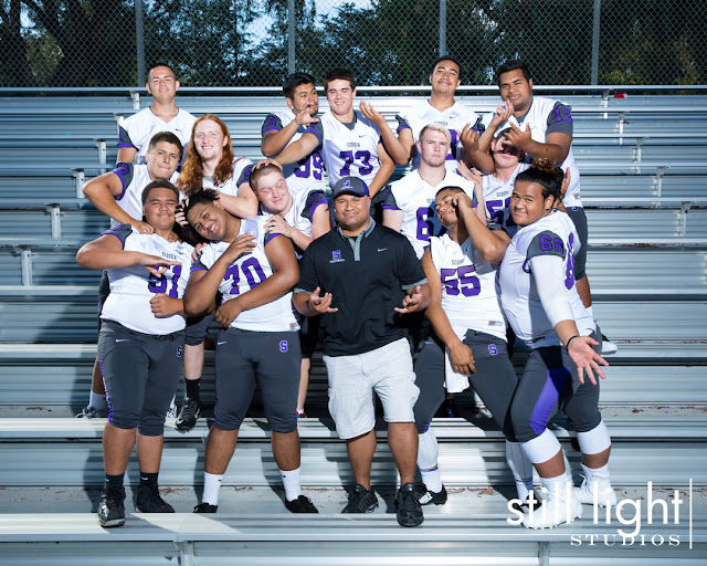 still light studios sports photography bay area high school football team