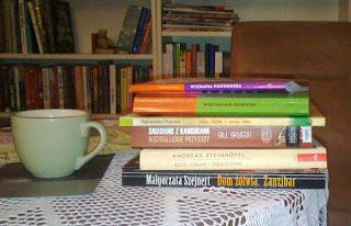 Książki czekające na recenzję