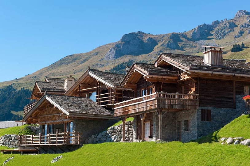 World of architecture luxury villa with mountain views in swiss alps verbier switzerland - Chalet architectuur ...