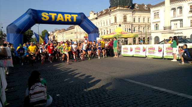 Maseur oficial la Maraton Arad 2015. O nouă participare, un nou rol, acelaşi eveniment frumos de alergare. Start