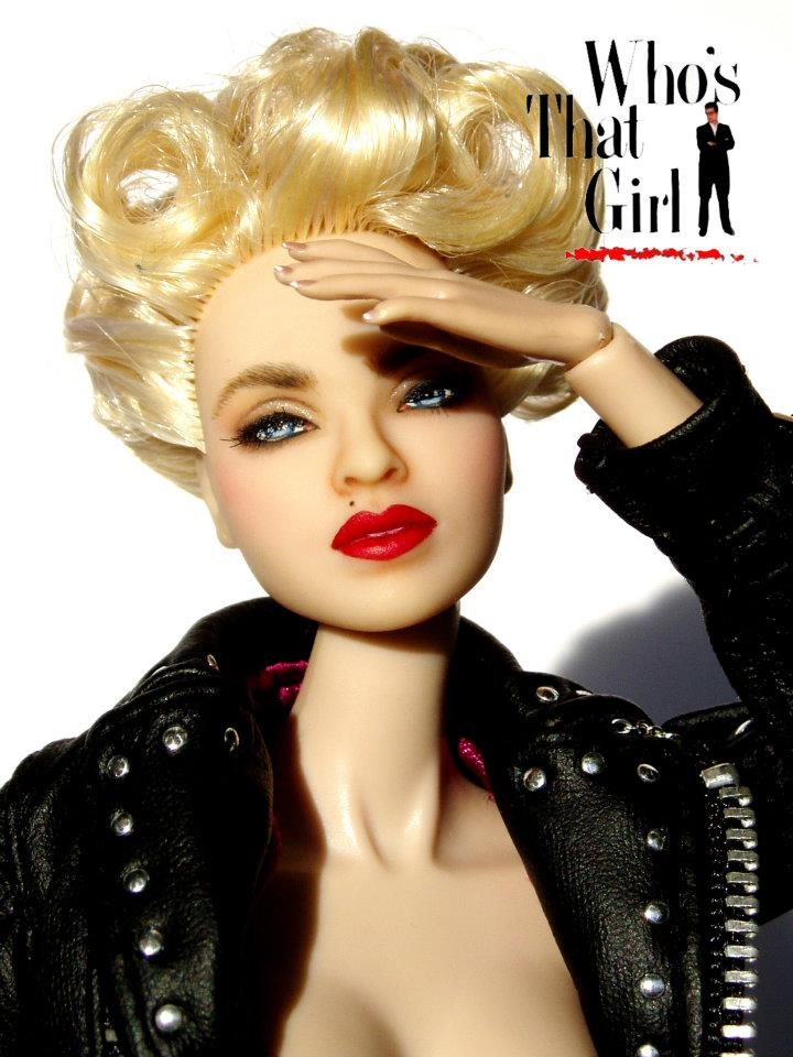Madonna as nikki finn in who s that girl madonna fanmade artworks