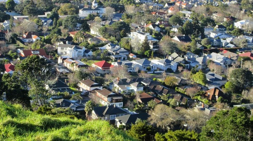Auckland - Quartiers résidentiels
