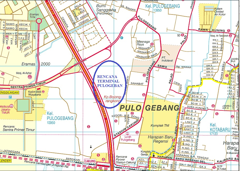 Rencana Jalan Tol Jakarta Sebelah Jalan Tol Jakarta