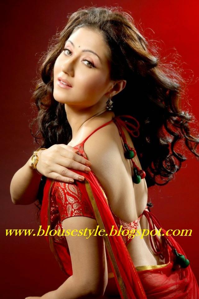 plain saree blouse
