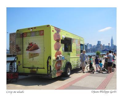 Image of Crisp on Wheels Food Truck in Hoboken, NJ New Jersey