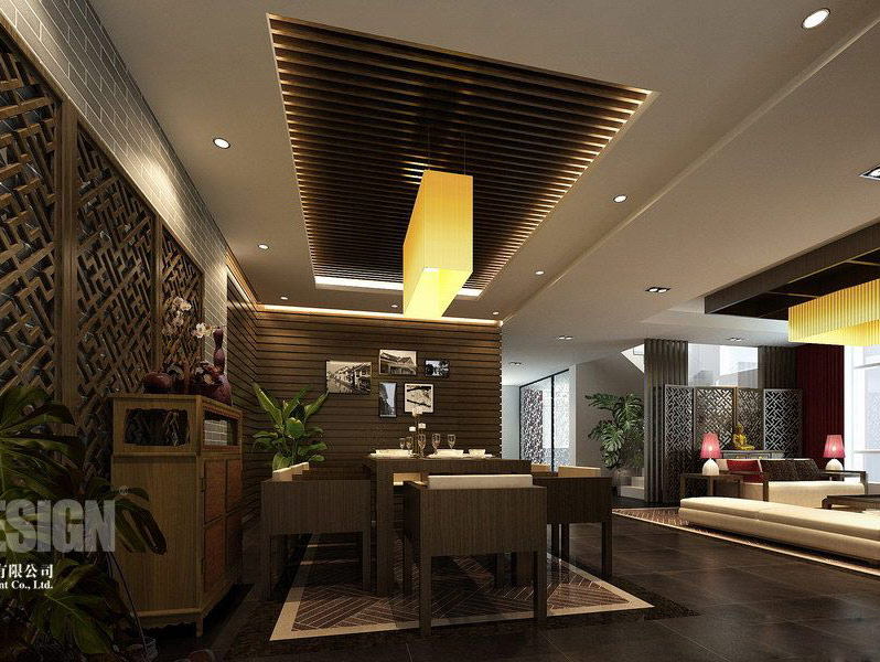Asian Interior Design Modern Home