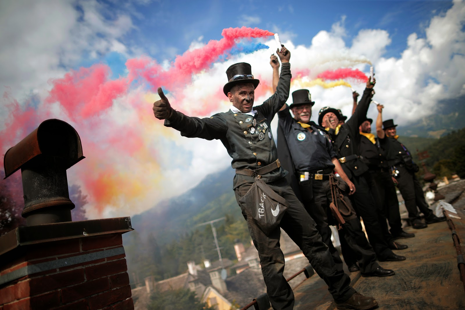 International Meeting of Chimney Sweeps HD Pictures