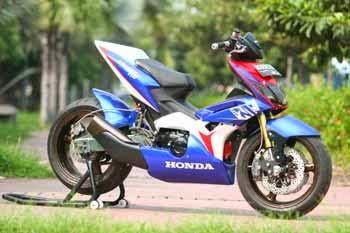 Gambar Modifikasi Motor Honda Terbaru 2015
