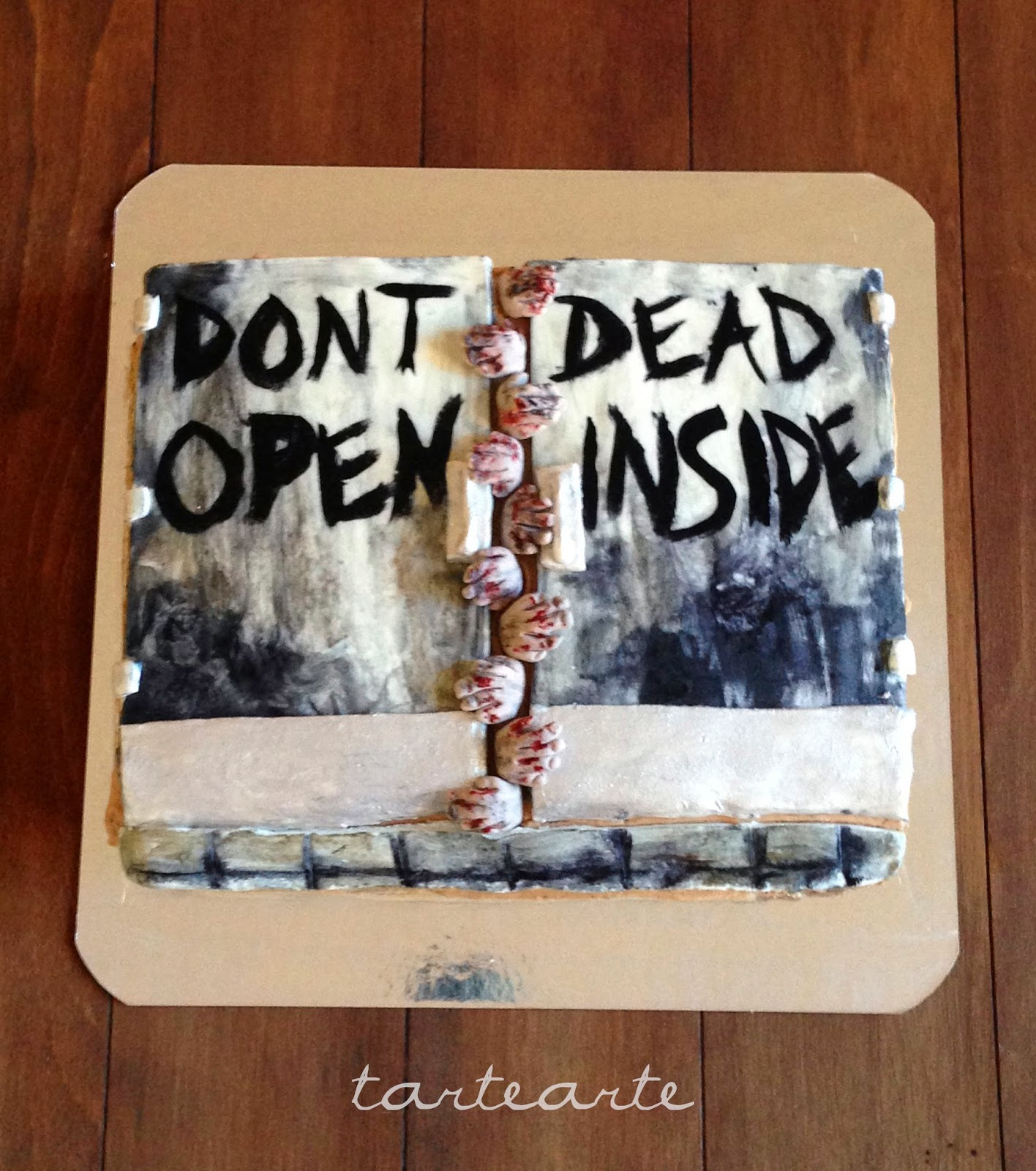 Tartearte Tarta The Walking Dead