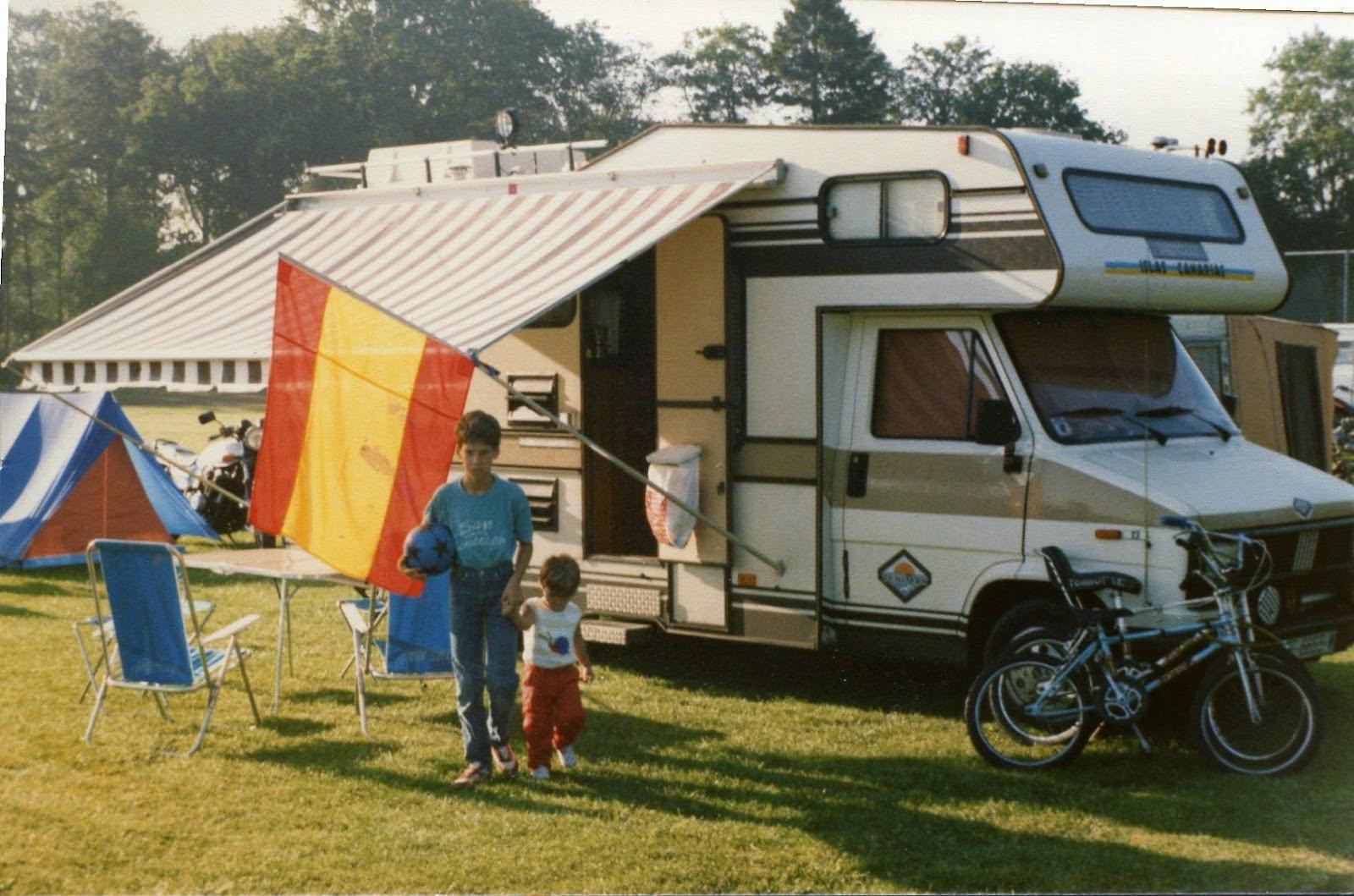 camping del circuito de Assen en Holanda