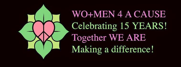 WO+MEN 4 A CAUSE Community Founded by Denise Vasquez Celebrating 15 Years!