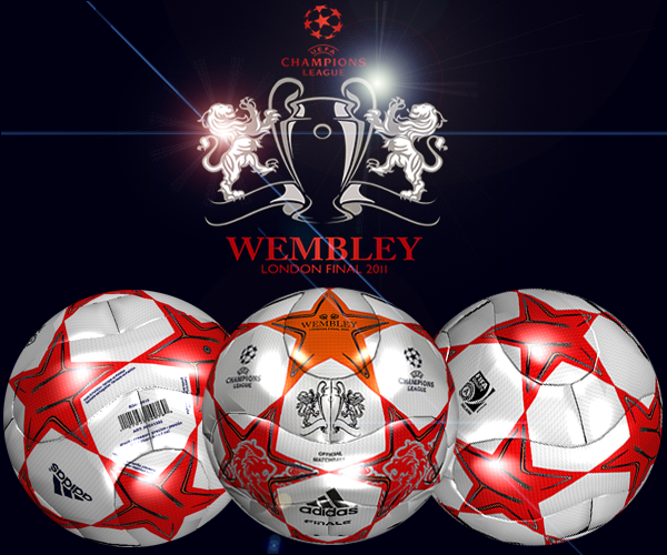 Bola Adidas Finale 11-Final Match Ball - UEFA Champions League WEMBLEY ...