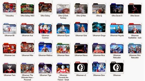 Download Icon Pack Ultraman