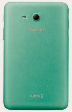 Gambar Samsung Galaxy Tab 3 Lite 7.0 3G Hijau Bagian Belakang