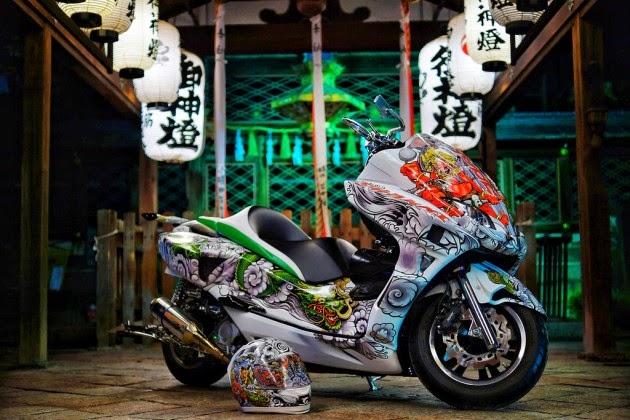 Modifikasi Honda Forza Shakki