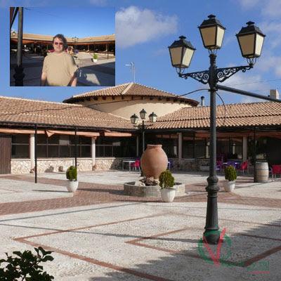 Carlos en el Hotel Mainetes.