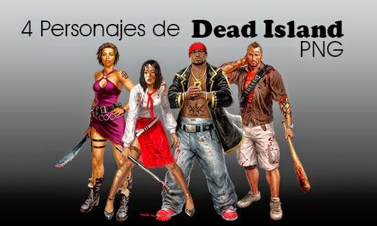 Dead-Island,-personajes