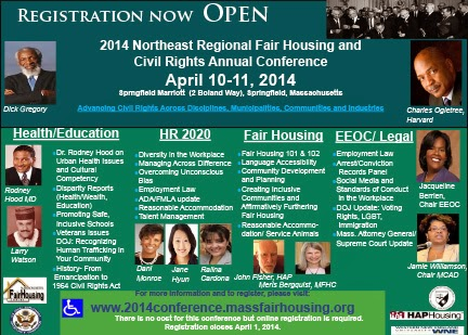 The FICKLIN MEDIA GROUP,LLC: 2014 Northeast Regional Fair Housing and Civil Rights Annual Conference April 10-11, 2014