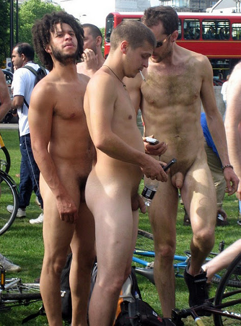 male nudity in public