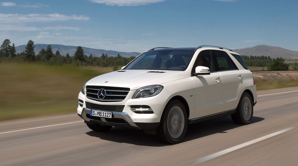 2013 Mercedes-Benz ML white