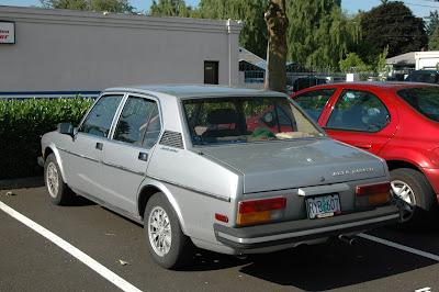 1979 Alfa Romeo Alfetta Sport Sedan.